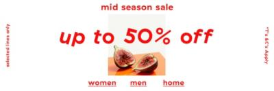 Save up to 50% off mid season sale + free UK delivery on order £60 at UrbanOutfitters.com