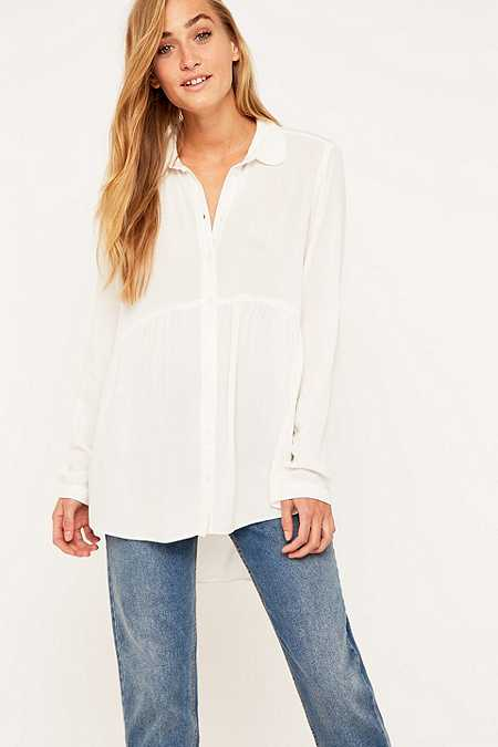 Urban Outfitters Babydoll Blouse