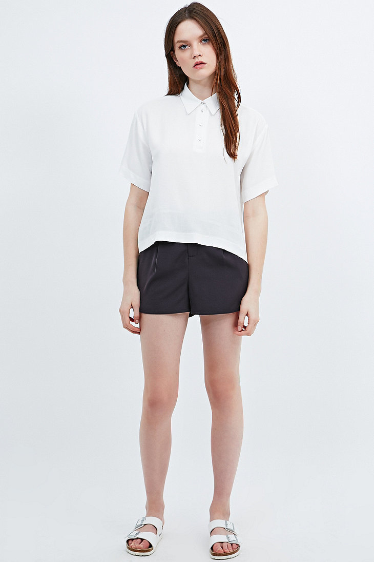 Cooperative Polo Blouse in Ivory