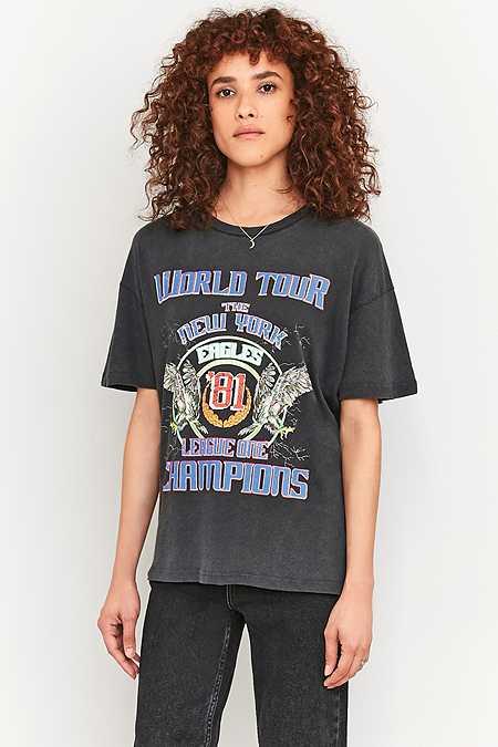 """BDG – T-Shirt """"Eagles World Tour New York"""""""