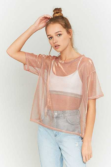 Light Before Dark – T-Shirt im Wet-Look