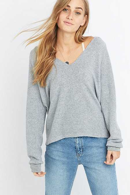 Project Social T So Fluffy Grey Hoodie