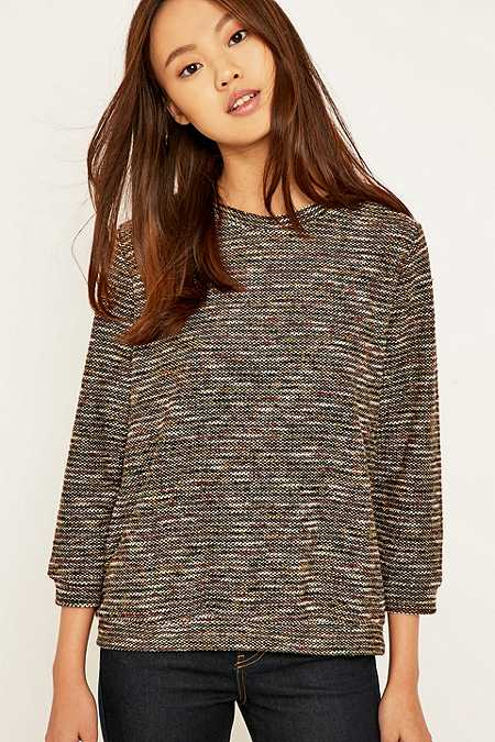 Staring at Stars Loopy Trim Jumper