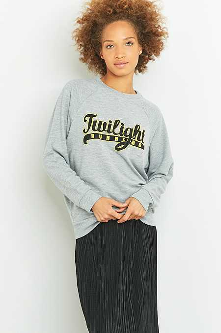 BDG Twilight Runners Grey Sweatshirt