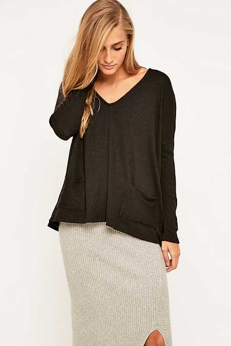 BDG Mia Pocket Pullover Jumper