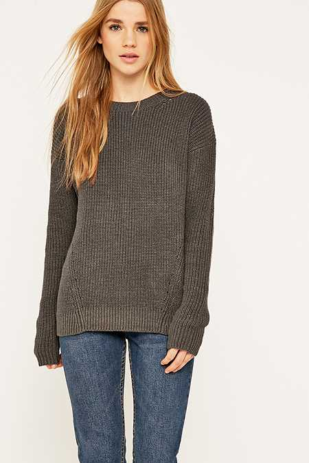 Urban Outfitters Cotton Crew Neck Jumper
