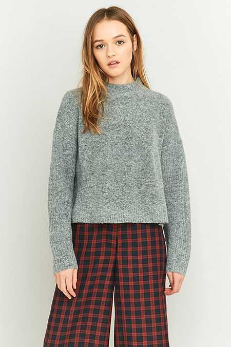 Light Before Dark Regal Mock Neck Jumper