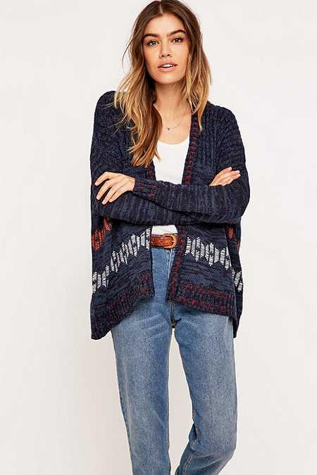BDG Hexagon Cardigan