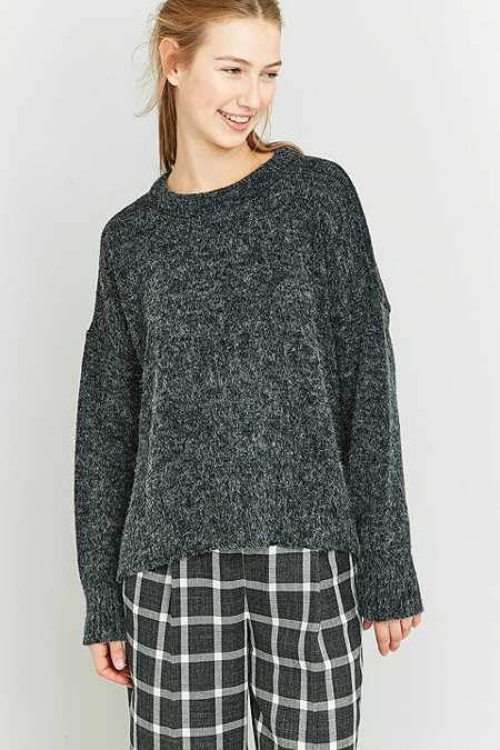 BDG Oversized Boyfriend Black Jumper