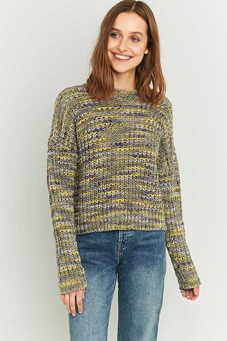 BDG Marled Knit Fisherman Jumper