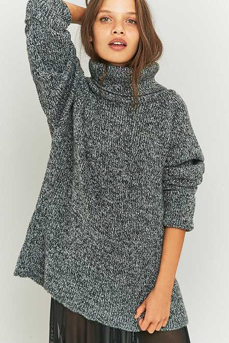 Light Before Dark Slouchy Turtleneck Jumper