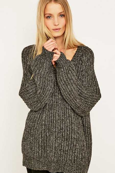 Light Before Dark V-Neck Jumper