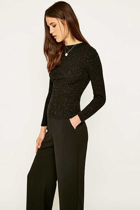 Sparkle & Fade Knitted Neppy Jumper
