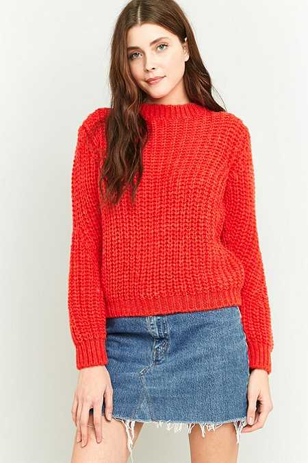 BDG Wide Ribbed Fisherman's Jumper