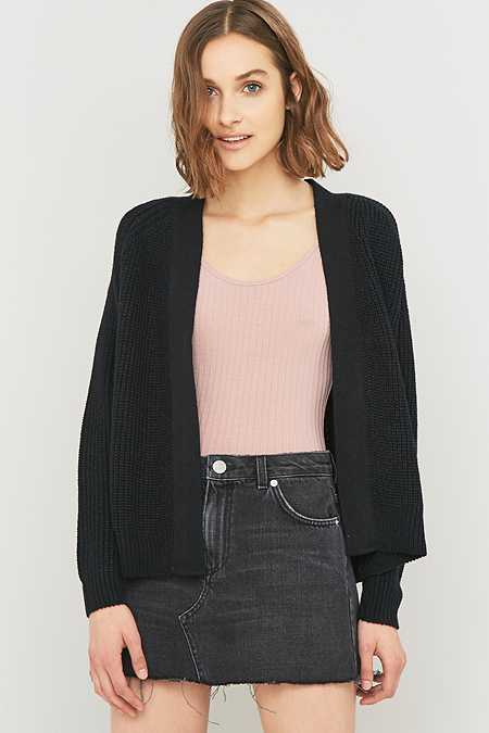 Light Before Dark Knitted Bomber Cardigan