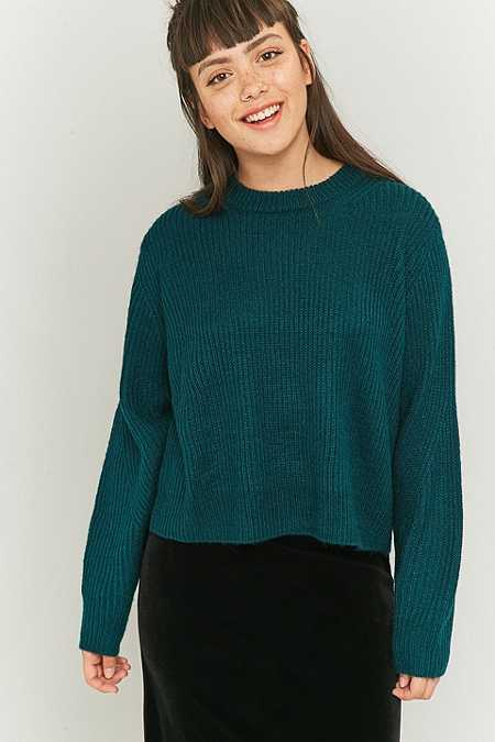 Urban Outfitters Fuzzy Balloon Sleeve Jumper