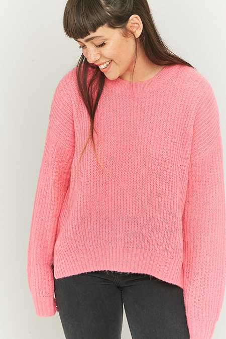 Urban Outfitters Fluffy Fisherman's Jumper