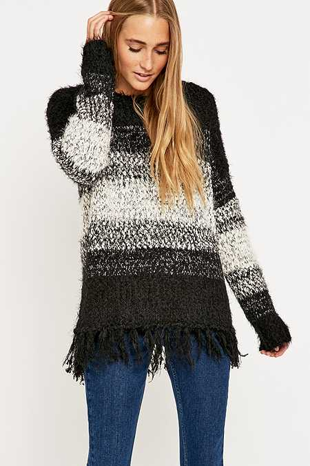 Staring at Stars Boho Fringe Jumper