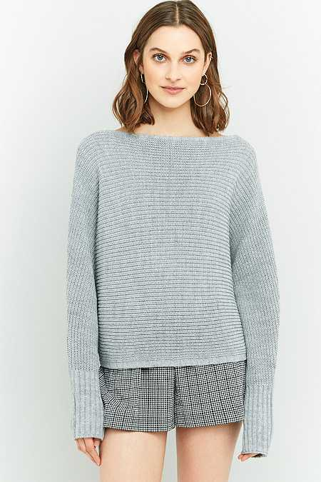 Urban Outfitters Slash Neck Batwing Sleeve Jumper