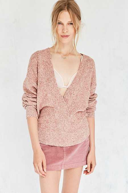 Silence + Noise Cosy Surplice Jumper