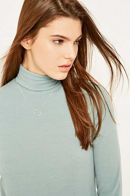 Urban Outfitters Ribbed Turtleneck Jumper