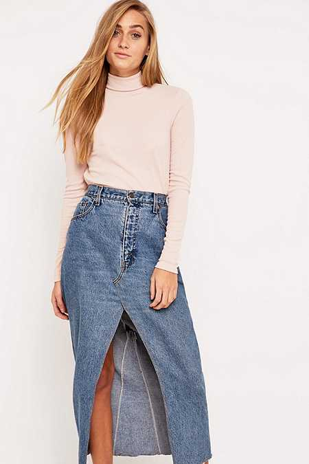 Urban Outfitters Ribbed Turtleneck Top