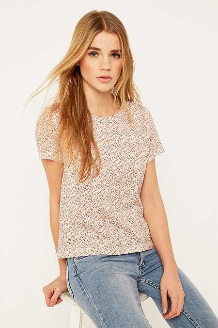 Urban Outfitters Cap Sleeve Foxy T-shirt