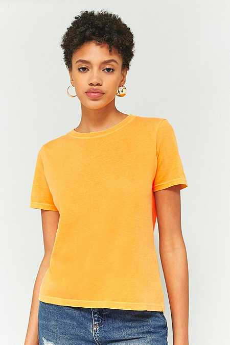 BDG – Verwaschenes T-Shirt mit Rundhalsausschnitt