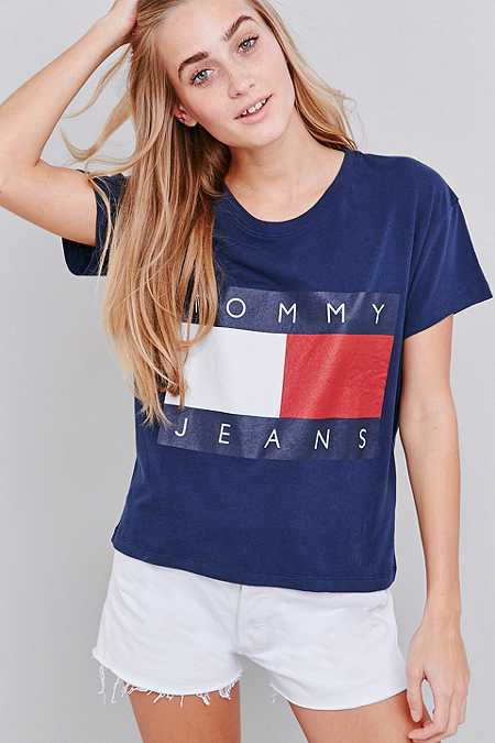 tommy jeans urban outfitters. Black Bedroom Furniture Sets. Home Design Ideas