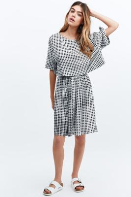 Gingham two-piece