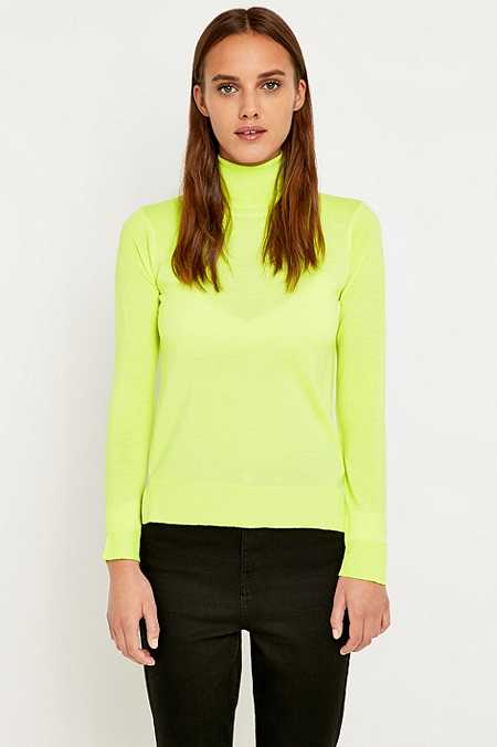 MM6 Neon Turtleneck Jumper