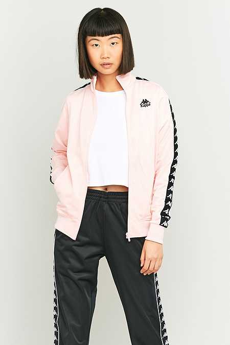 Kappa – Trainingsjacke in Rosa