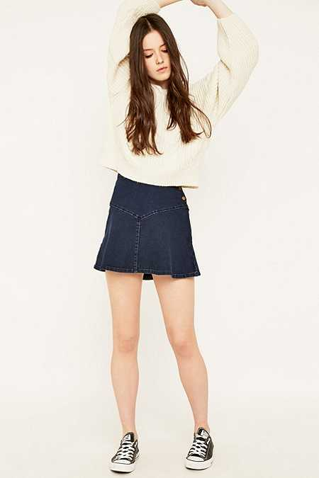 Urban Outfitters Side Button Flippy Skirt