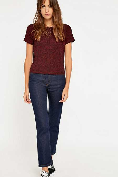 BDG Girlfriend Indigo Rinse Straight Leg Jeans