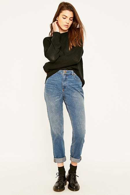 BDG Mid Blue Mom Jeans