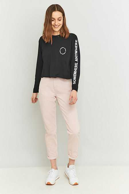 BDG Baby Pink Mom Jeans