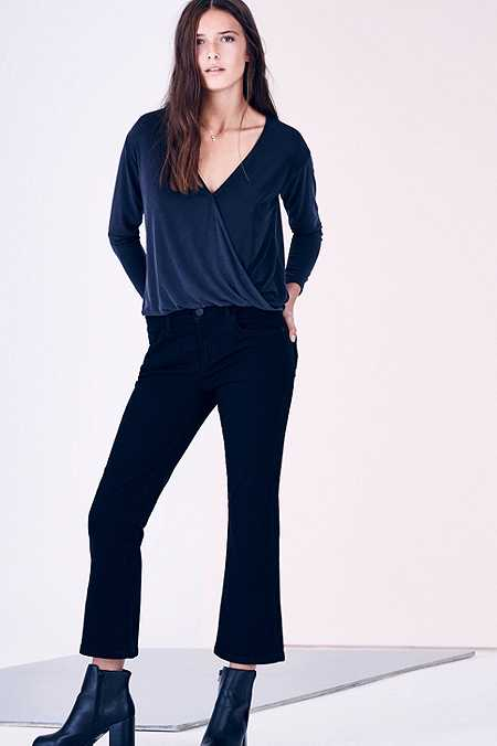 BDG Black Kick Flared Jeans