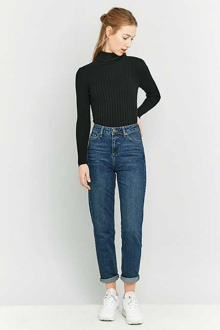 BDG Dark Indigo Mom Jeans