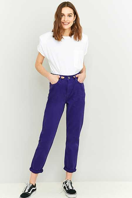 BDG Purple Mom Jeans