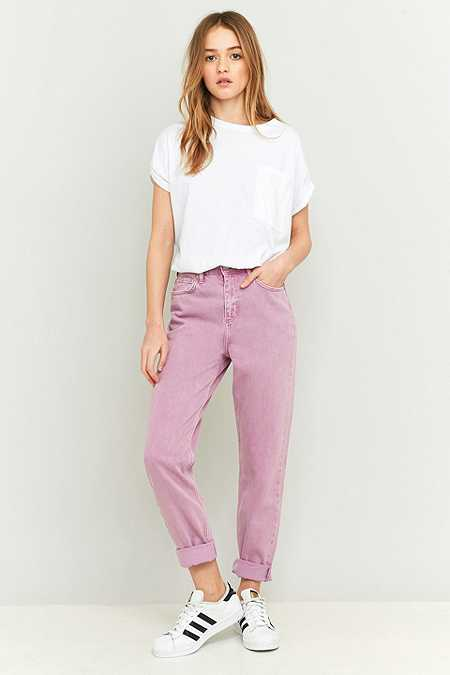 BDG Lilac Mom Jeans