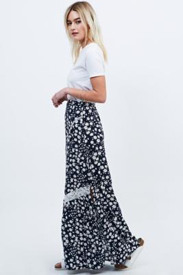 Maxi daisy skirt
