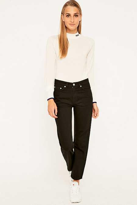 Wood Wood Eve Vintage Relaxed Black Jeans