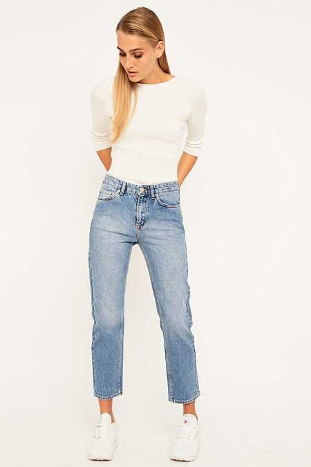 Wood Wood Eve Vintage Relaxed  Blue Jeans