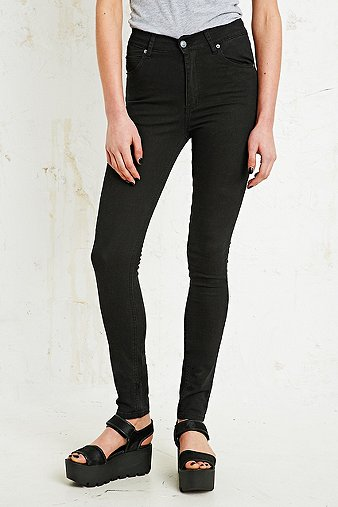 Cheap Monday Second Skin High-Waisted Skinny Jeans - Urban Outfitters