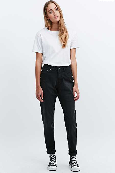 Cheap Monday Donna Jeans in Washed Black