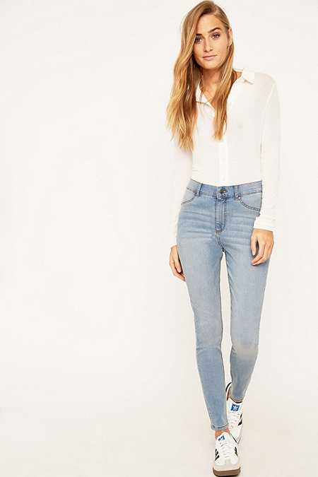 Cheap Monday High Spray On Stone Bleach Skinny Jeans
