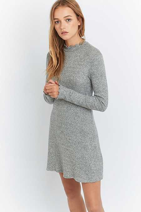 Pins & Needles Cosy Lettuce Edge Dress