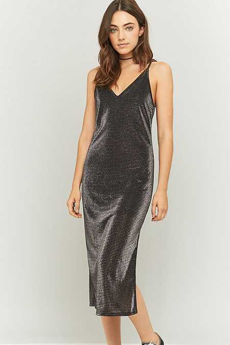 Sparkle & Fade Apex Sparkle Midi Dress