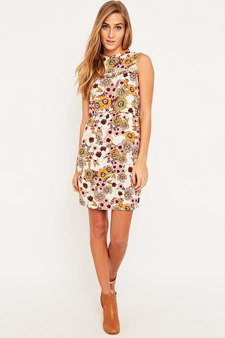 Urban Outfitters Frill Detail Floral Dress