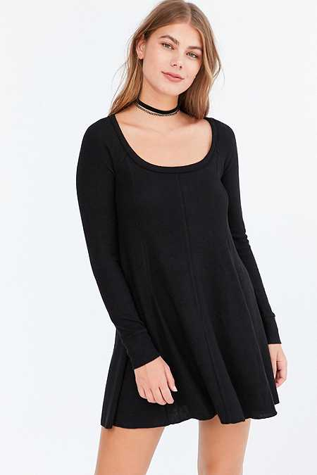 BDG Aiden Cosy Swing Mini Dress